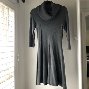 The Limited Dresses - The Limited cowl neck sweater dress